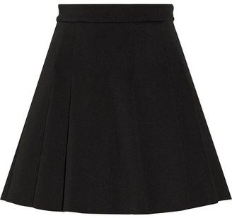 Alexander Wang Pleated neoprene skirt