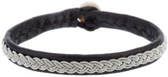 Hanna Wallmark 'Samis' deer skin bracelet