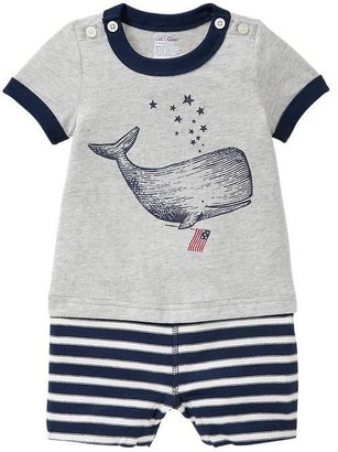 Gap Whale graphic one-piece