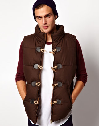 Selected Padded Gilet