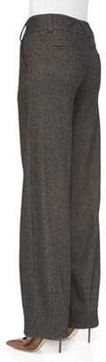 Alice + Olivia Onell Wide-Leg Trousers