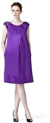 Dolce & Gabbana Ruched Satin Dress