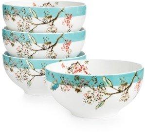 Lenox Simply Fine Set of 4 Chirp Dessert Bowls