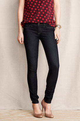 Lands' End Women's Super Skinny Indigo Jeans - Fit 1