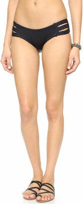 Vitamin A Chloe Triple Braid Bikini Bottoms $99 thestylecure.com