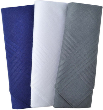 JCPenney Stafford 3-pc. Solid Handkerchief Set