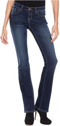 INC International Concepts Petite Jeans, Bootcut, Smithfield Wash