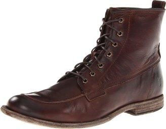 Frye Men's Phillip Work Boot Dark Brown 8 M US