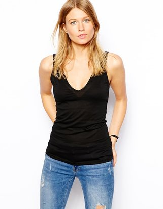 Asos Tank with V Neck and Back
