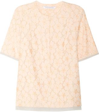 Diane von Furstenberg Warner lace top