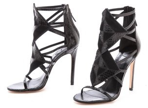 Brian Atwood Luanna Caged Sandals