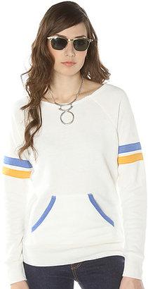 Alternative Apparel The Maniac Sport Sweatshirt in Eco Ivory
