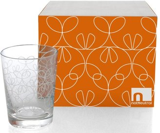 notNeutral Ribbon Etched Old Fashion Set