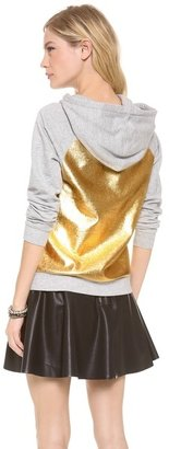 Juicy Couture Metallic Pullover Hoodie