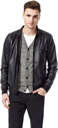Theory Viek L Jacket in Skyward Leather