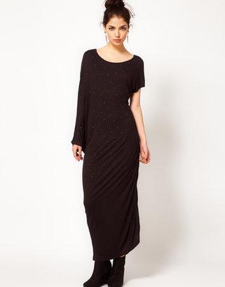 Prey of London Twisted Studded Maxi Dress