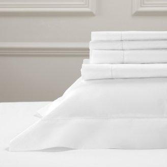 The White Company Pimlico Flat Sheet, White, Super King