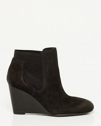 Le Château Leather Wedge Bootie