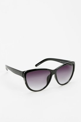 Cat Eye Fine Line Cat-Eye Sunglasses