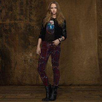 Denim & Supply Ralph Lauren Printed Skinny Corduroy Pant