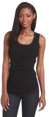 Pete Tees Women's Double Layer Ruched Tank
