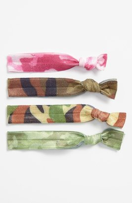 Cara Camo Ponytail Holders (4-Pack)