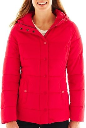 JCPenney St. John's Bay Puffer Jacket - Talls
