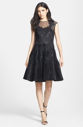 Ted Baker 'Quetiaa' Lace Fit & Flare Dress