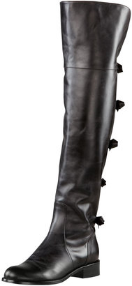Valentino Multi Bow Over-the-Knee Boot