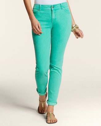 Chico's Roll Cuff Ankle Jeans