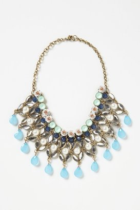 Anthropologie Fertile Crescent Bib Necklace