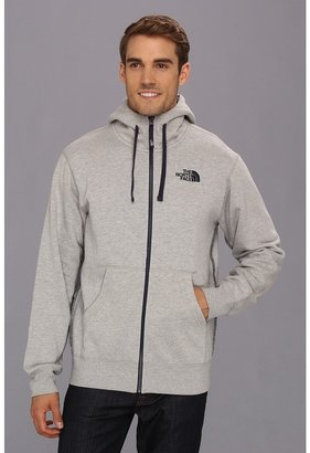 The North Face Rearview Full Zip Hoodie (Graphite Grey/Nautical Blue) - Apparel