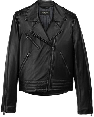 Rag and Bone Bowery Leather Jacket