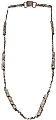 Pierre Cardin Vintage Chain link logo belt