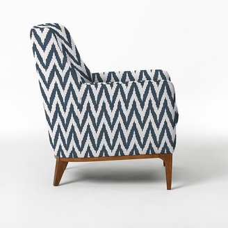 west elm Sloan Upholstered Chair - Prints