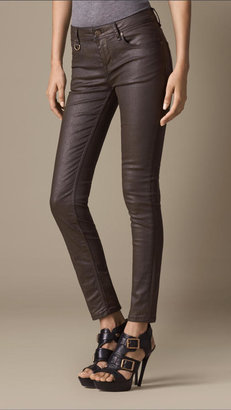 Burberry Westbourne Coated Skinny Fit Jeans