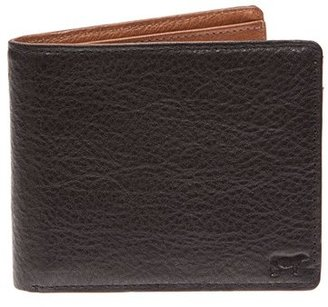Men's Will Leather Goods 'Barnard' Wallet - Black $110 thestylecure.com