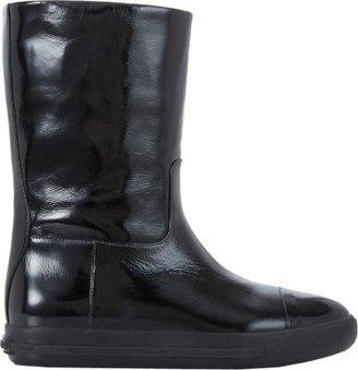 Miu Miu Patent Cap-Toe Boots