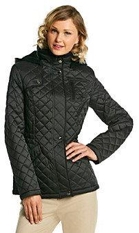 Esprit Hooded Anorak Quilt Jacket
