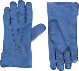 Barneys New York Deerskin Leather Gloves