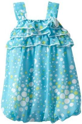 Little Lass Baby-Girls Newborn 1 Piece Bubble Flower Creeper