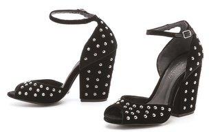 Schutz Chunky Heel Sandals
