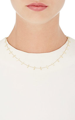 Jennifer Meyer Women's Bar & Cable-Chain Necklace