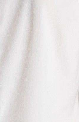 Halogen Banded Collar Sleeveless Blouse (Regular & Petite)