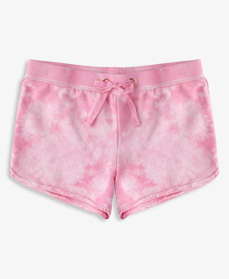 Forever 21 Bleached French Terry Athletic Shorts (Kids)