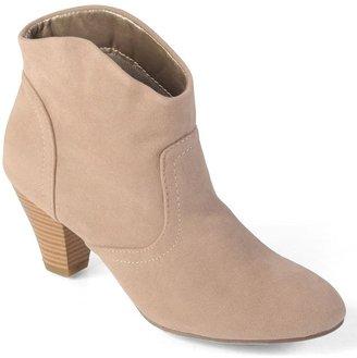 Journee Collection pippa high heel booties - women