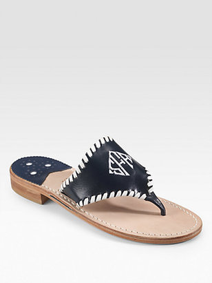 Jack Rogers Personalized Navajo Resort Sandals
