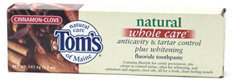 Tom's of Maine Cinnamon Clove Whole Care Toothpaste