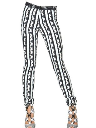 Peter Pilotto Printed Viscose Crepe Trousers
