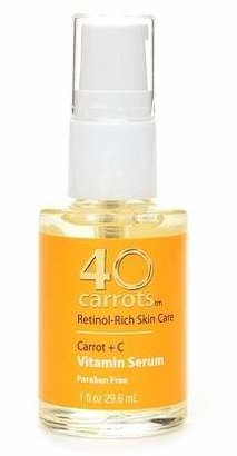 40 Carrots Carrot + C Vitamin Serum $13.99 thestylecure.com